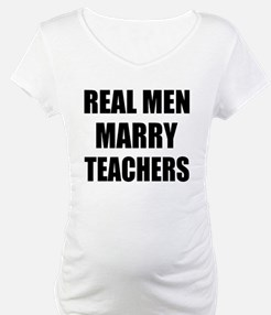 Real Men Marry Teachers Shirt