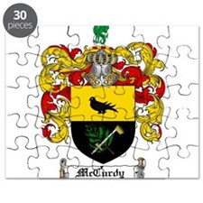 McCurdy Family Crest Puzzle