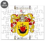 McDonald Family Crest Puzzle