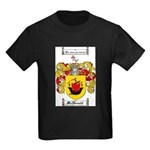 McDonald Family Crest Kids Dark T-Shirt