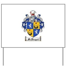 McDougall Family Crest Yard Sign