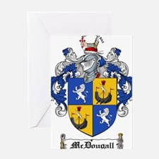 McDougall Family Crest Greeting Card