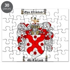 McFarland Family Crest Puzzle