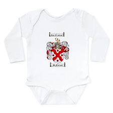 McFarland Family Crest Long Sleeve Infant Bodysuit