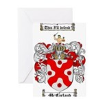 McFarland Family Crest Greeting Card