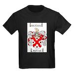McFarland Family Crest Kids Dark T-Shirt