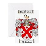 McFarland Family Crest Greeting Cards (Pk of 10)