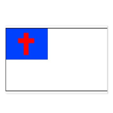 Christian Flag Postcards (Package of 8)