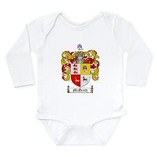 McGrath Family Crest Long Sleeve Infant Bodysuit