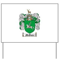 McGuire Family Crest Yard Sign