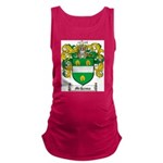 McKenna Family Crest Maternity Tank Top