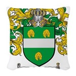 McKenna Family Crest Woven Throw Pillow
