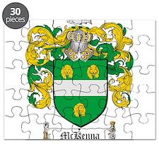 McKenna Family Crest Puzzle