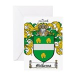 McKenna Family Crest Greeting Card