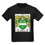 McKenna Family Crest Kids Dark T-Shirt