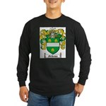McKenna Family Crest Long Sleeve Dark T-Shirt