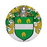 McKenna Family Crest Ornament (Round)