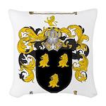 McKnight Family Crest Woven Throw Pillow