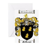 McKnight Family Crest Greeting Cards (Pk of 20)