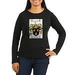 McKnight Family Crest Women's Long Sleeve Dark T-S