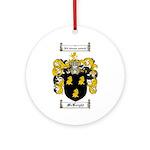 McKnight Family Crest Ornament (Round)
