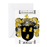McKnight Family Crest Greeting Cards (Pk of 10)