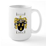 McKnight Family Crest Large Mug