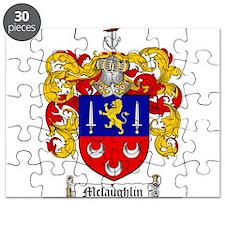 McLaughlin Family Crest Puzzle