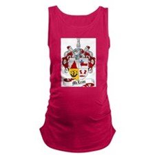 McLean Family Crest Maternity Tank Top