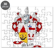 McLean Family Crest Puzzle