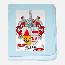 McLean Family Crest baby blanket