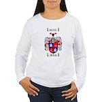 McLeod Family Crest Women's Long Sleeve T-Shirt