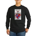 McLeod Family Crest Long Sleeve Dark T-Shirt
