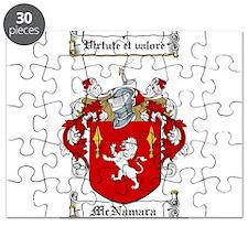 McNamara Family Crest Puzzle