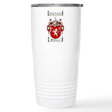 McNamara Family Crest Travel Mug
