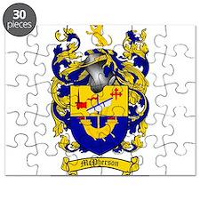 McPherson Family Crest Puzzle