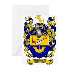 McPherson Family Crest Greeting Card