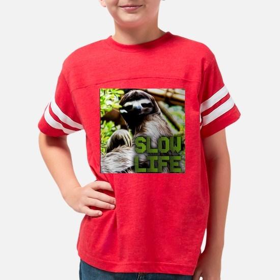 Slow Life Youth Football Shirt