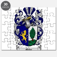 Meyer Family Crest Puzzle