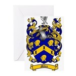Miles Family Crest Greeting Cards (Pk of 10)