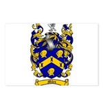 Miles Family Crest Postcards (Package of 8)