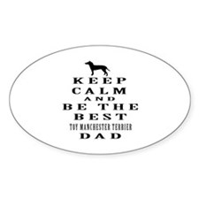 Toy Manchester Terrier Dad Designs Decal