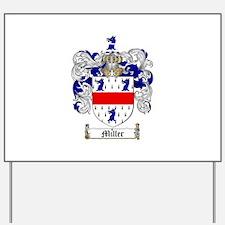 Miller Family Crest Yard Sign