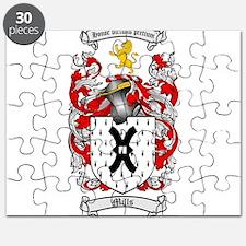 Mills Family Crest Puzzle
