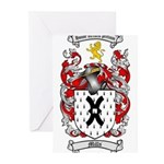 Mills Family Crest Greeting Cards (Pk of 20)