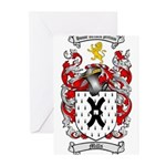 Mills Family Crest Greeting Cards (Pk of 10)