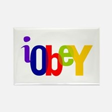Obey The Rectangle Magnet