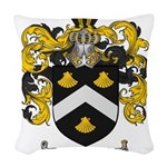 Mitchell Family Crest Woven Throw Pillow