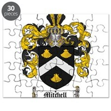 Mitchell Family Crest Puzzle