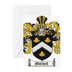 Mitchell Family Crest Greeting Cards (Pk of 20)